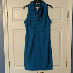 Beautiful blue, London Times dress, size 8